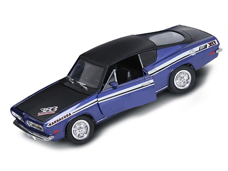 Коллекционный автомобиль 1969 года - Плимут Barracuda, масштаб 1/18Винтажные модели<br>Коллекционный автомобиль 1969 года - Плимут Barracuda, масштаб 1/18<br>