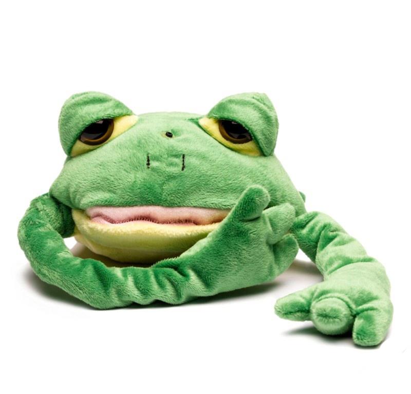 Купить Мягкая игрушка - Смеющаяся лягушка, плюшевая, Chericole