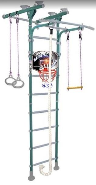 Шведская стенка Midzumi Hoshi Ton Basketball Shield, цвет - ментоловый сорбет фото