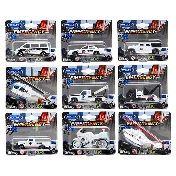 Игрушечная модель полицейской техники – EmergencyПолицейские машины<br>Игрушечная модель полицейской техники – Emergency<br>