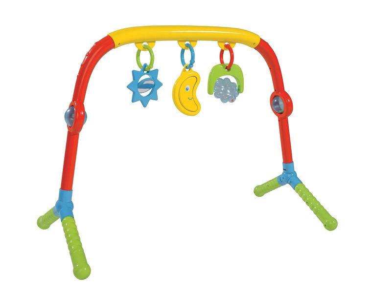 Детский турникРазвивающая дуга. Игрушки на коляску и кроватку<br>Турник детский (Simba, 4011784)<br>Развивающая игрушка для детей от 0-6/12 месяцев.<br>Веселые, яркие подвески.<br>