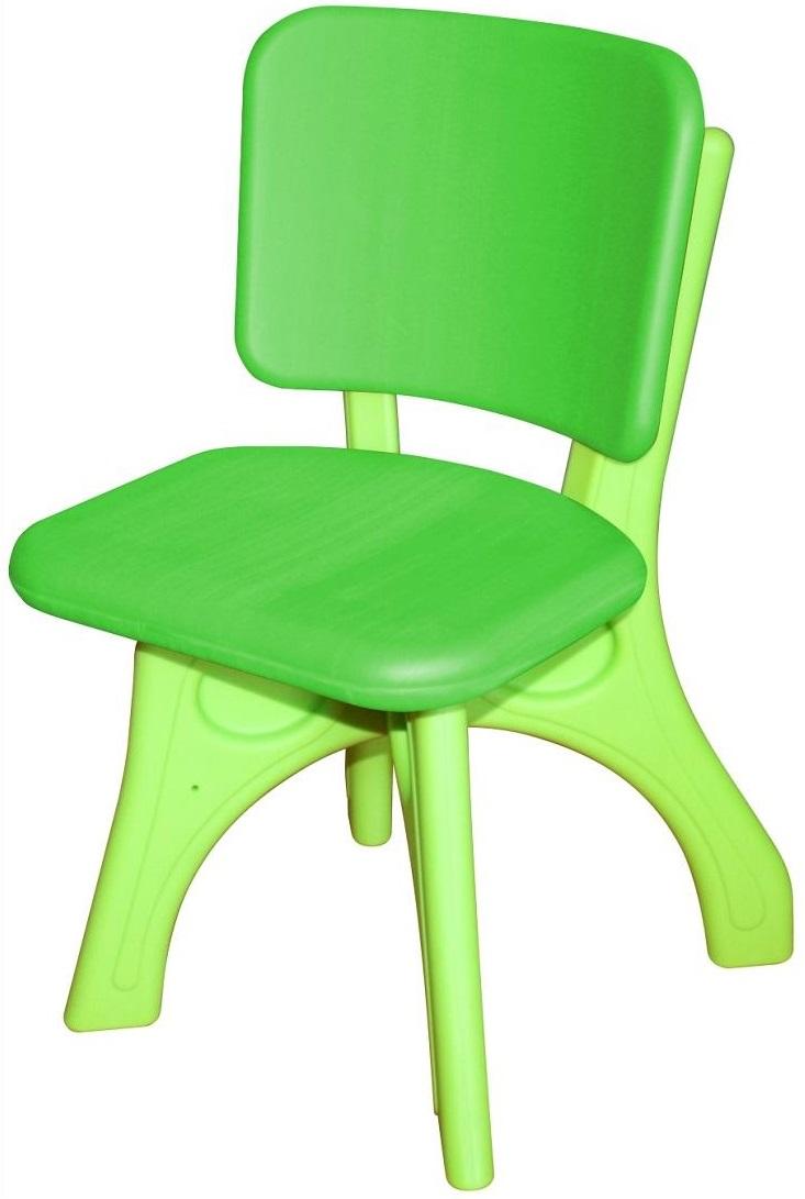 Купить Детский пластиковый стул Дейзи, зеленый, King Kids