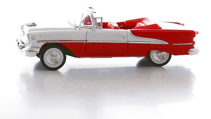 Oldsmobile Super 1955, масштаб 1:24