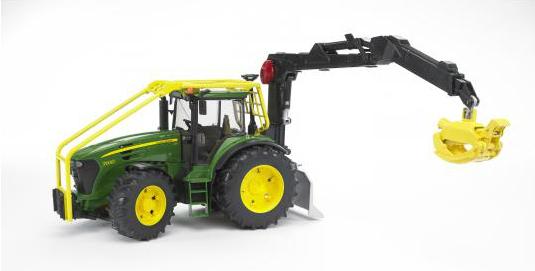 Трактор John Deere 7930 лесной с манипуляторомИгрушечные тракторы<br>Трактор John Deere 7930 лесной с манипулятором<br>