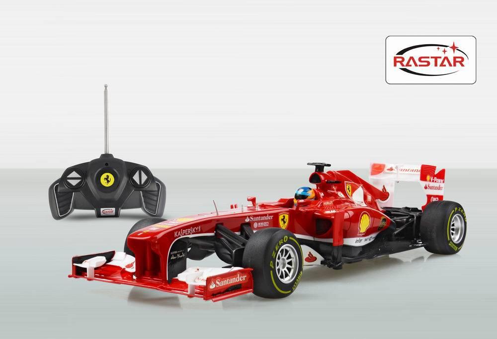 Машина на радиоуправлении Ferrari F1, цвет красный, 27MHZ, 1:18Машины на р/у<br>Машина на радиоуправлении Ferrari F1, цвет красный, 27MHZ, 1:18<br>
