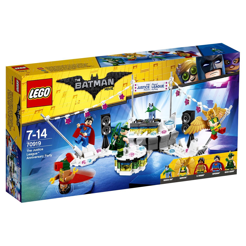 Купить Конструктор Lego Batman Movie – Вечеринка Лиги Справедливости