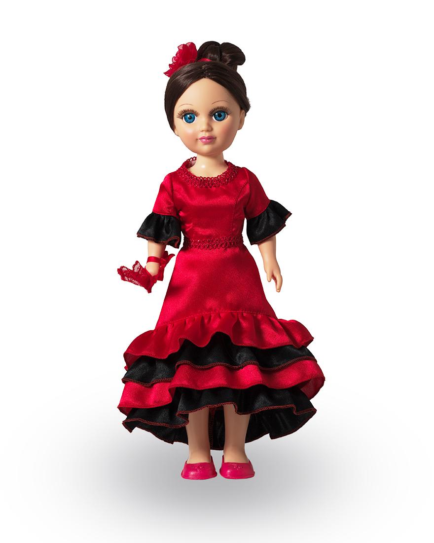 Кукла Анастасия - Испанский танец, со звуком 42 смРусские куклы фабрики Весна<br>Кукла Анастасия - Испанский танец, со звуком 42 см<br>