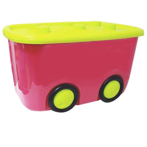 Ящик для игрушек - Моби, малиновыйКорзины для игрушек<br>Ящик для игрушек - Моби, малиновый<br>