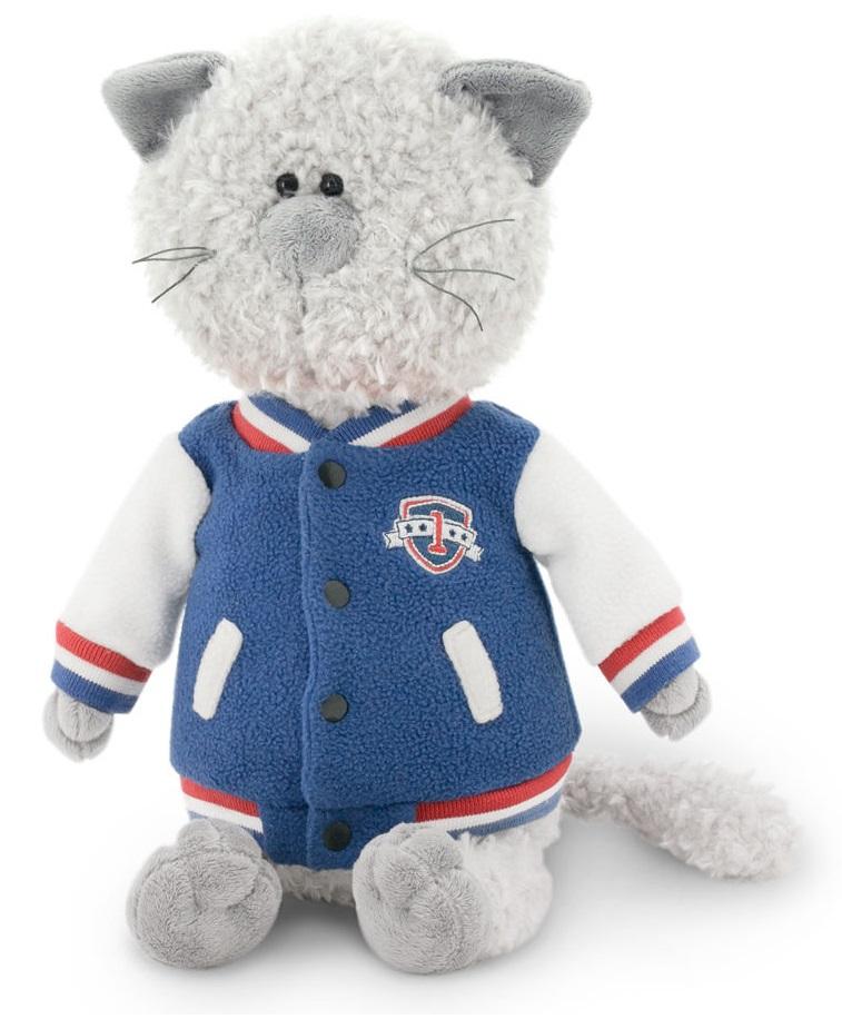 Мягкая игрушка - Кот Обормот в клубной курткеКоты<br>Мягкая игрушка - Кот Обормот в клубной куртке<br>