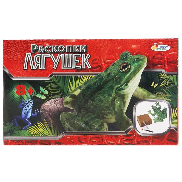 Купить со скидкой Настольная игра – Раскопки: Лягушки