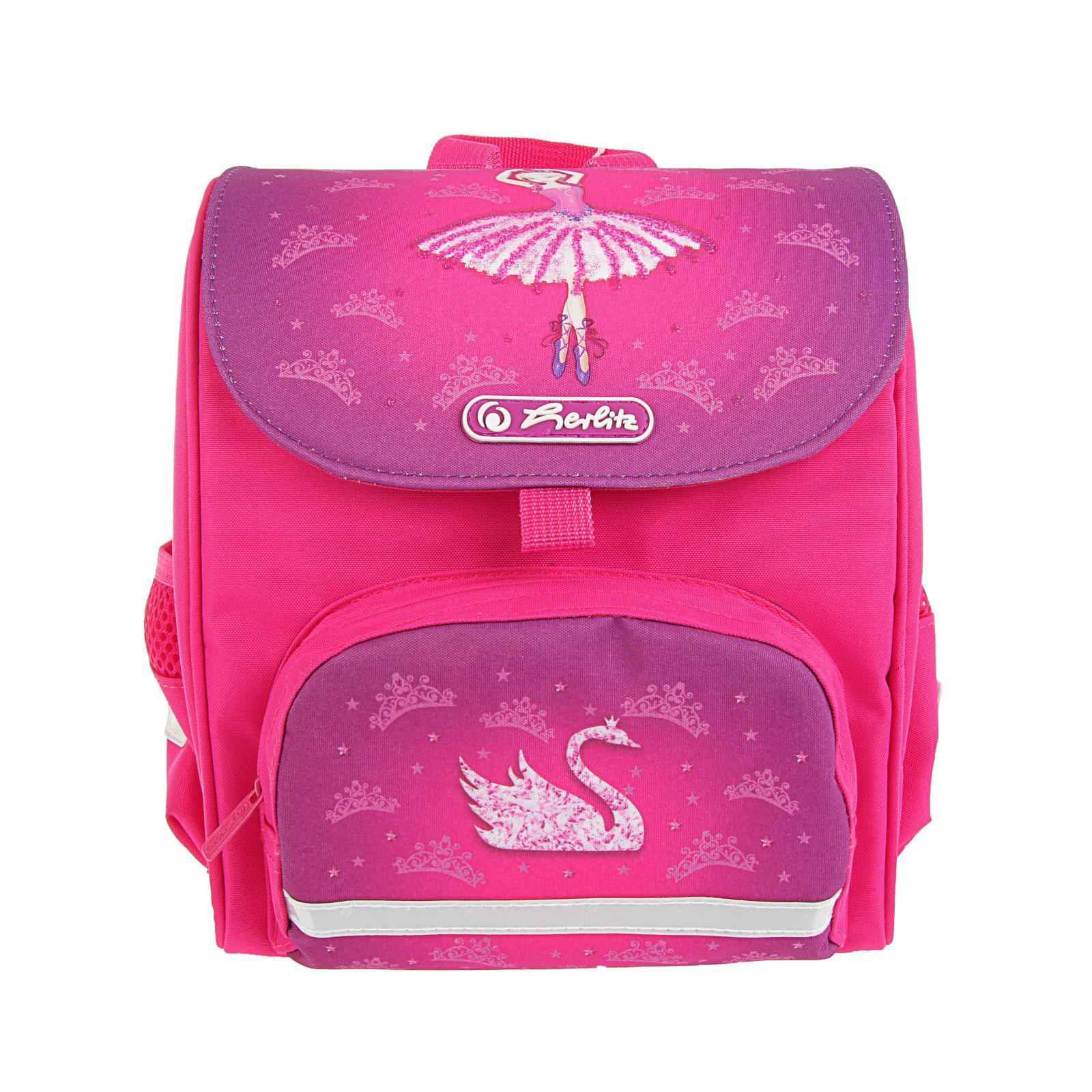 Ранец дошкольный Mini Softbag - Ballerina, без наполнения, Herlitz  - купить со скидкой