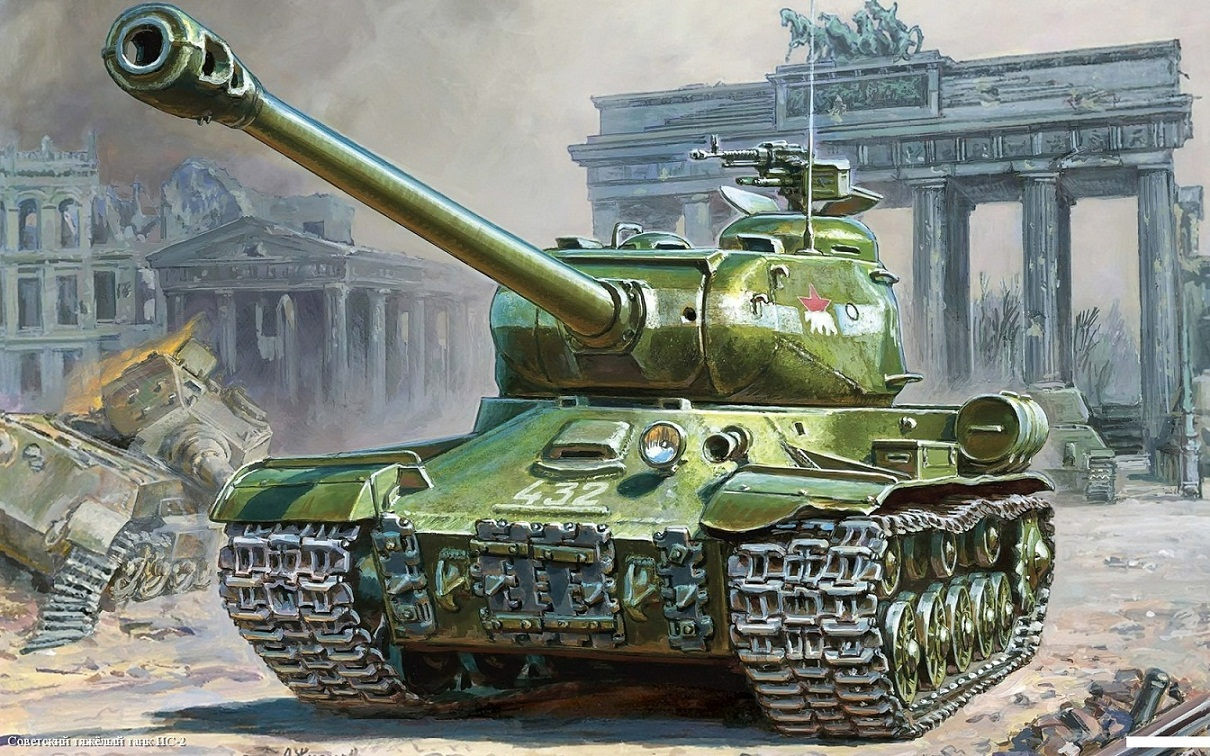 Купить Модель сборная - Советский тяжёлый танк Ис-2, ZVEZDA