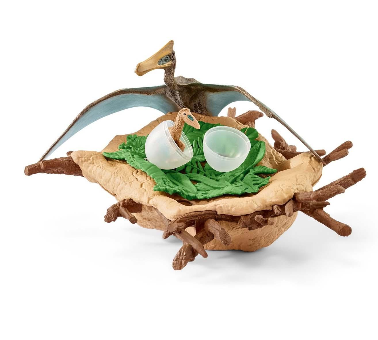 Купить Игровой набор - Гнездо динозавров с Кетцалькоатлем, Schleich