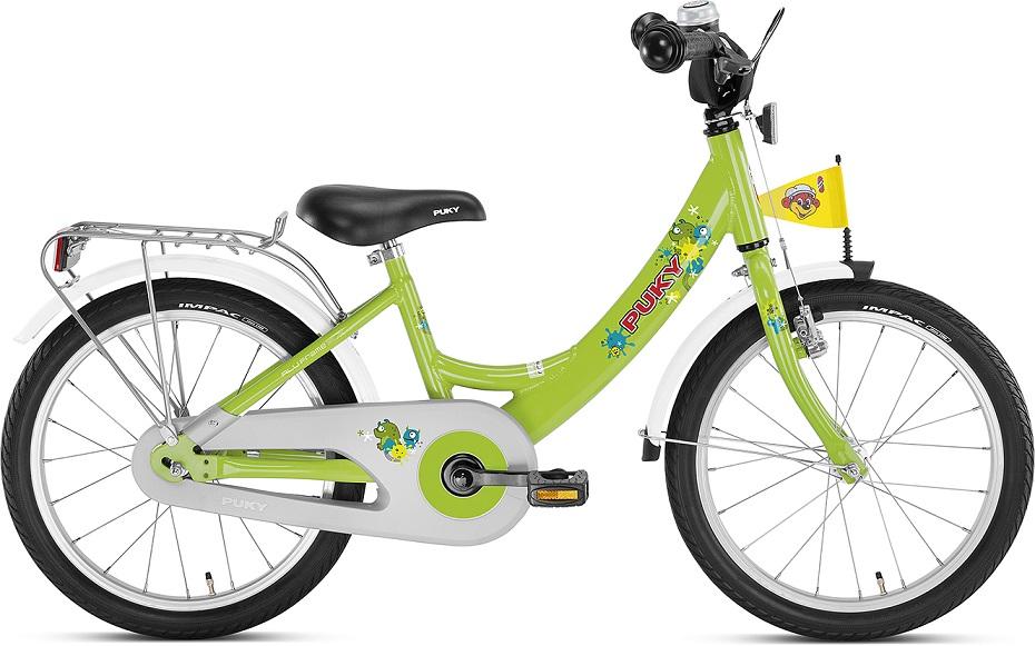 Купить Двухколесный велосипед ZL 18-1 Alu, цвет – Kiwi/Салатовый, Puky