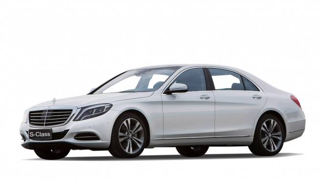 MERCEDES-BENZ S-CLASS, масштаб 1:24 от Toyway