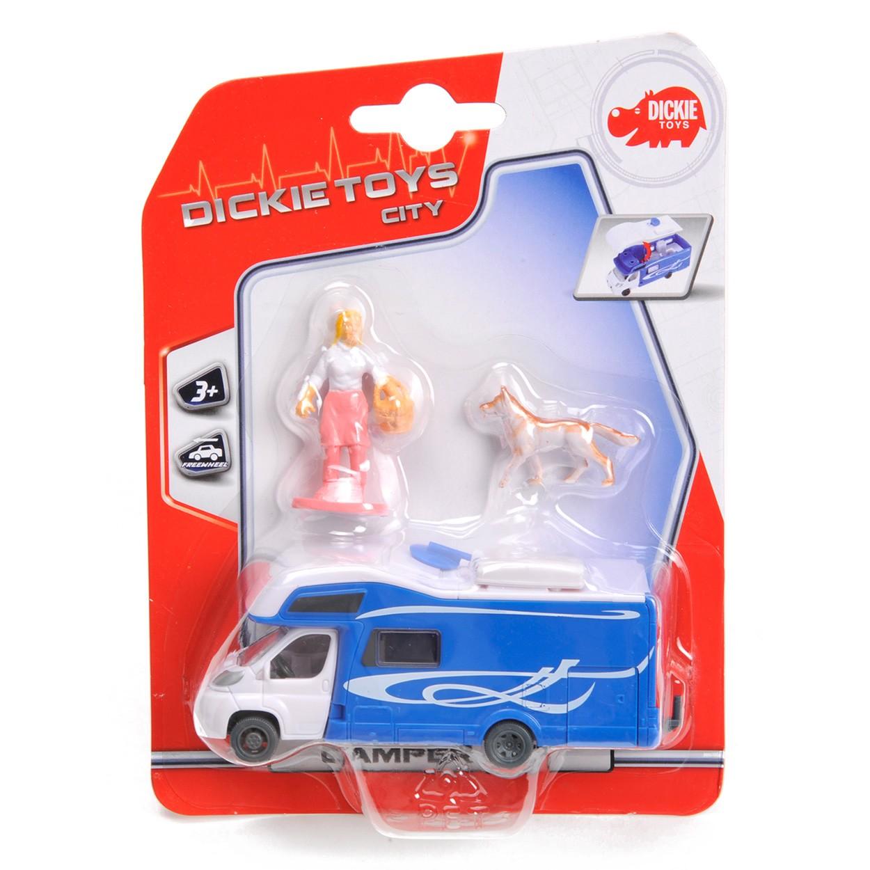 Купить Машинка для кемпинга с фигурками, 3 вида, 12 см., Dickie Toys