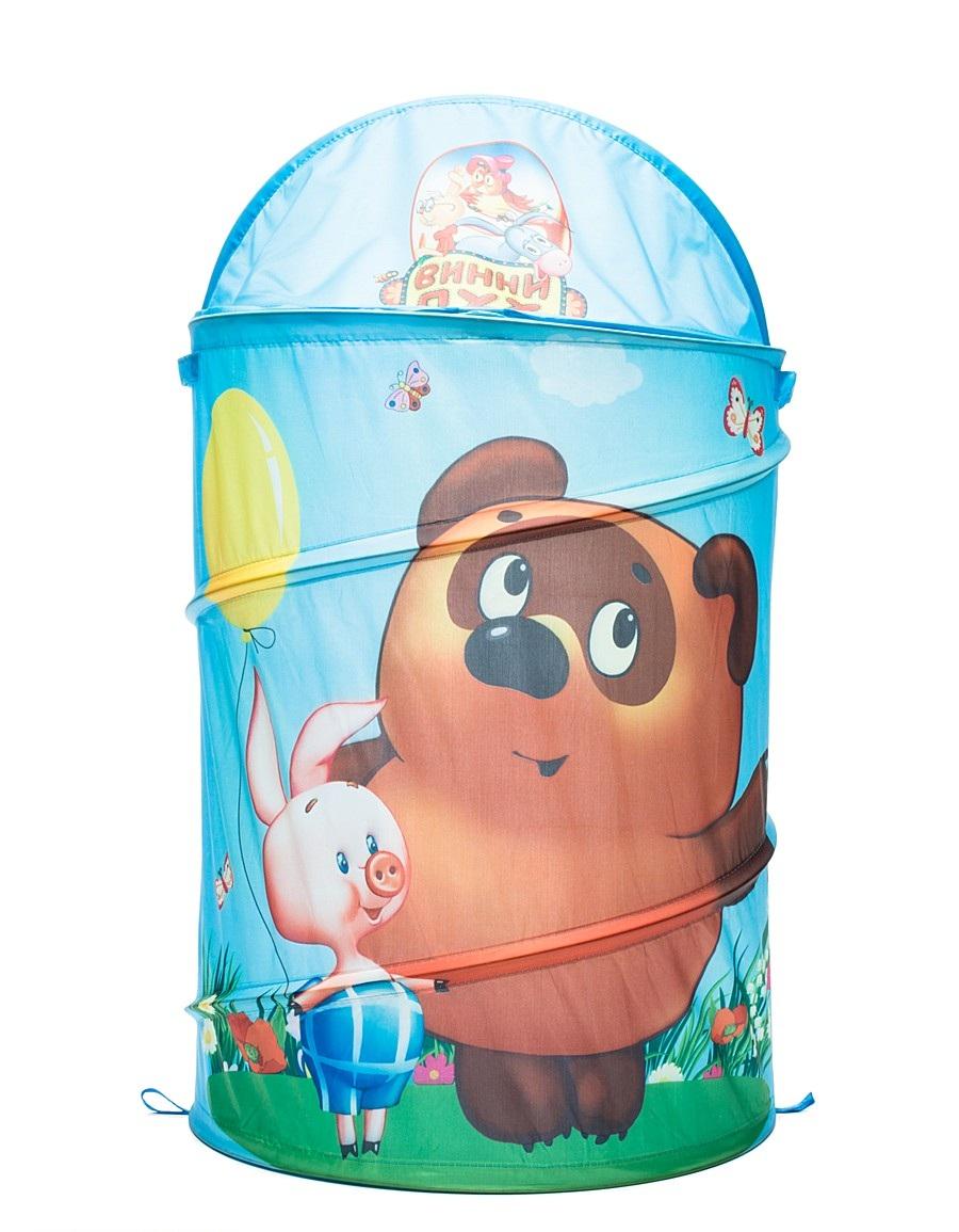 Купить Корзина для игрушек «Винни-Пух», Играем вместе