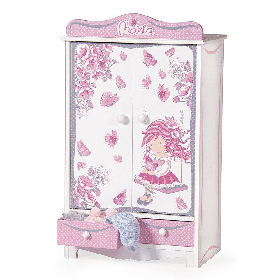 DeCuevas Гардеробный шкаф для куклы, серия МарияКукольные домики<br>DeCuevas Гардеробный шкаф для куклы, серия Мария<br>