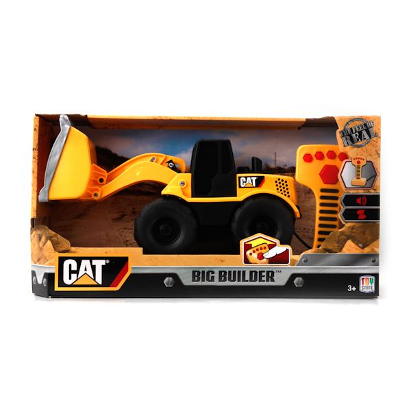 картинка Машина Cat - Экскаватор 22,5 см, пульт управления, звуковые эффекты от магазина Bebikam.ru