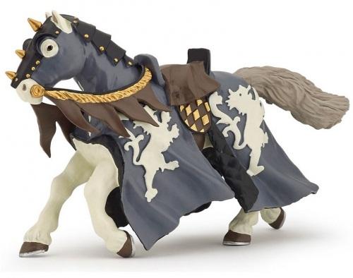 Фигурка коня чёрного всадника с мечомФигурки Papo<br>Фигурка коня чёрного всадника с мечом<br>