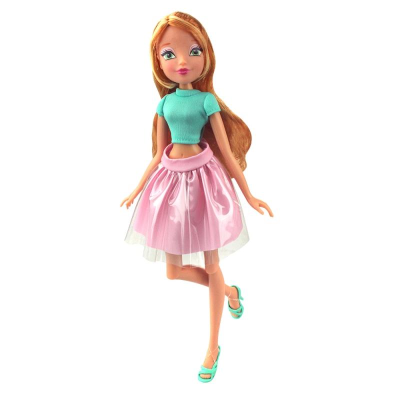 Кукла Winx Club - Городская магия-2, FloraКуклы Винкс (Winx)<br>Кукла Winx Club - Городская магия-2, Flora<br>