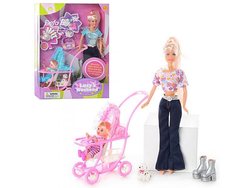 Кукла Defa с малышом и аксессуарами, 34 см, 3 видаКуклы Defa Lucy<br>Кукла Defa с малышом и аксессуарами, 34 см, 3 вида<br>