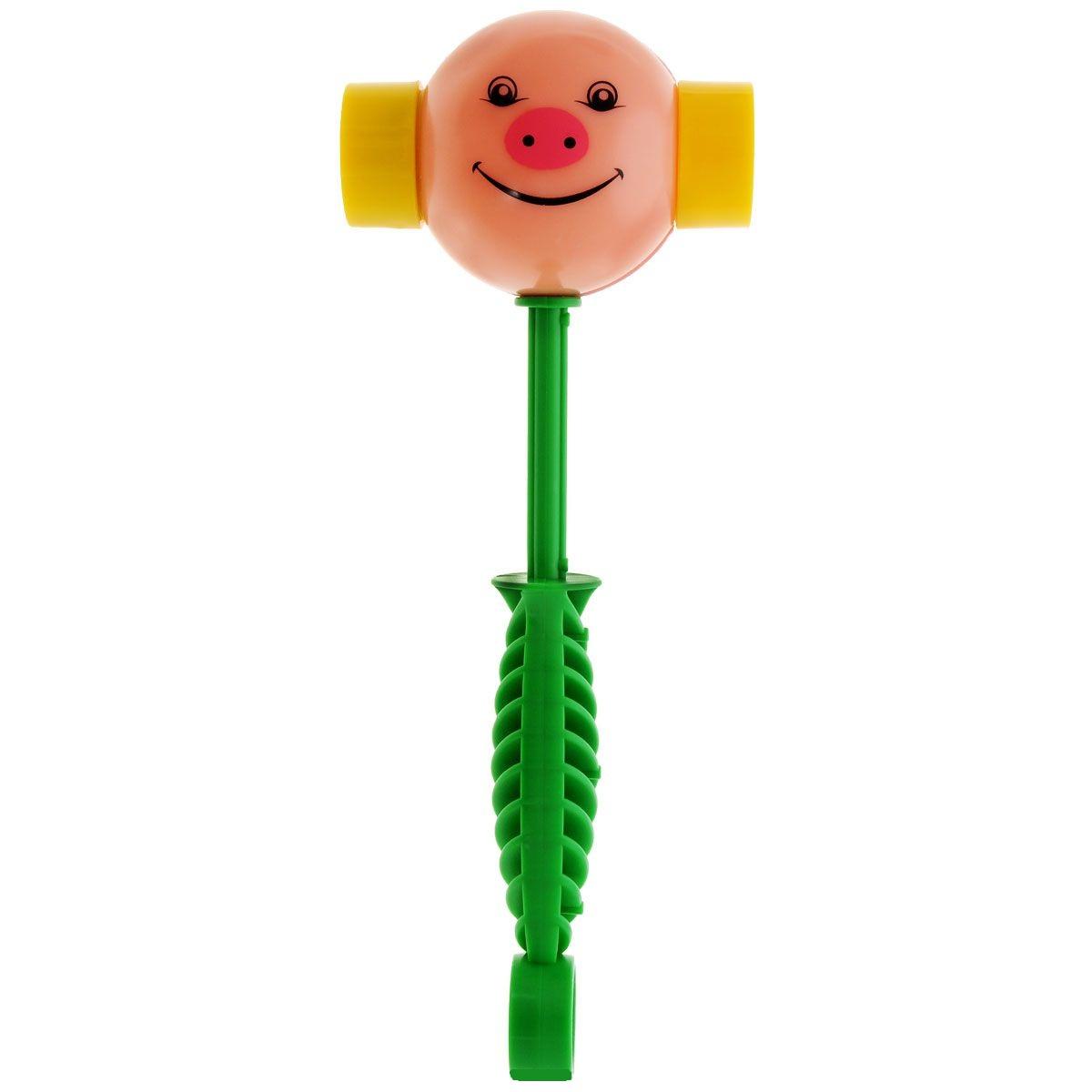 Погремушка «Весёлый молоточек»Детские погремушки и подвесные игрушки на кроватку<br>Погремушка «Весёлый молоточек»<br>