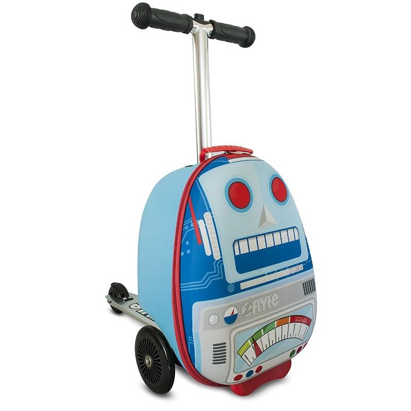 Самокат-чемодан - Sparky The Robot