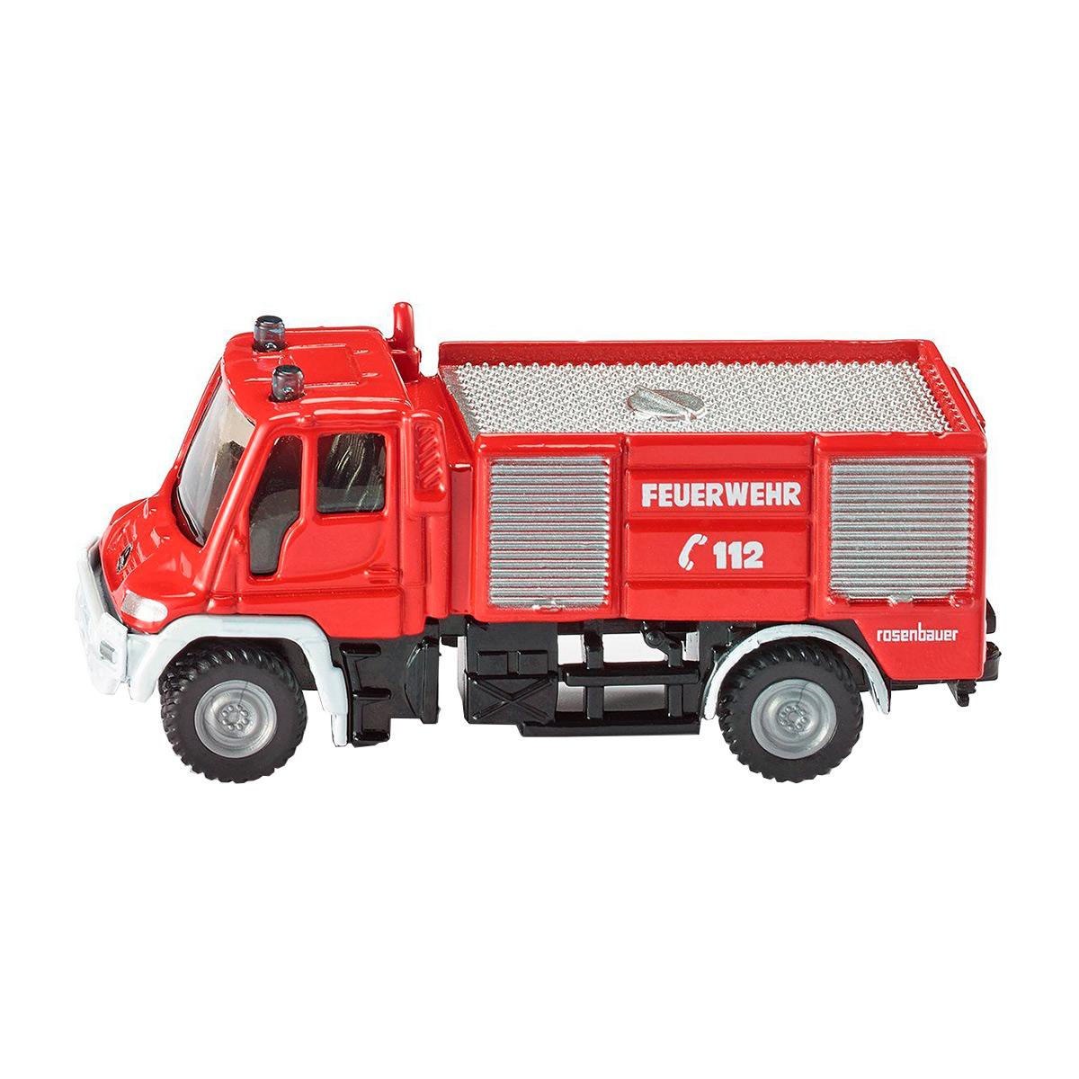 Купить Игрушечная модель - Пожарная машина Unimog, Siku
