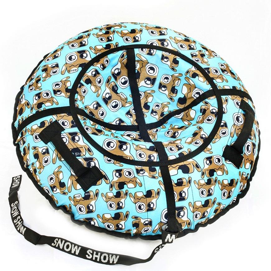 Купить Санки надувные - Тюбинг RT - Глазастик, диаметр 118 см