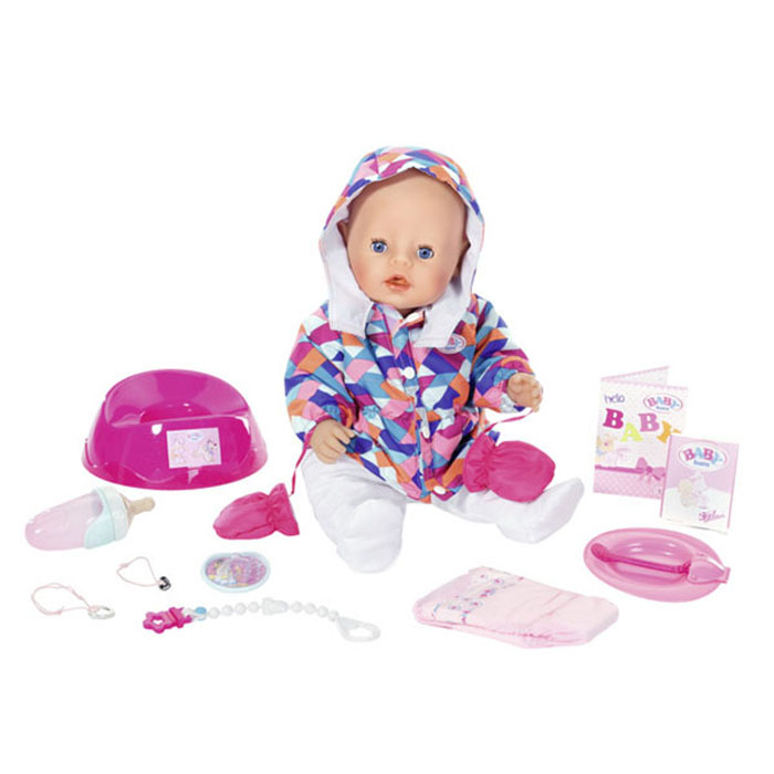 Интерактивная кукла Baby Born - Зимняя пора, 43 см от Toyway
