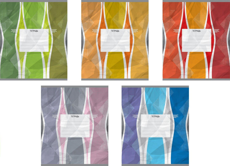 Ученическая тетрадь Оригами в клетку, 24 листаТетради<br>Ученическая тетрадь Оригами в клетку, 24 листа<br>