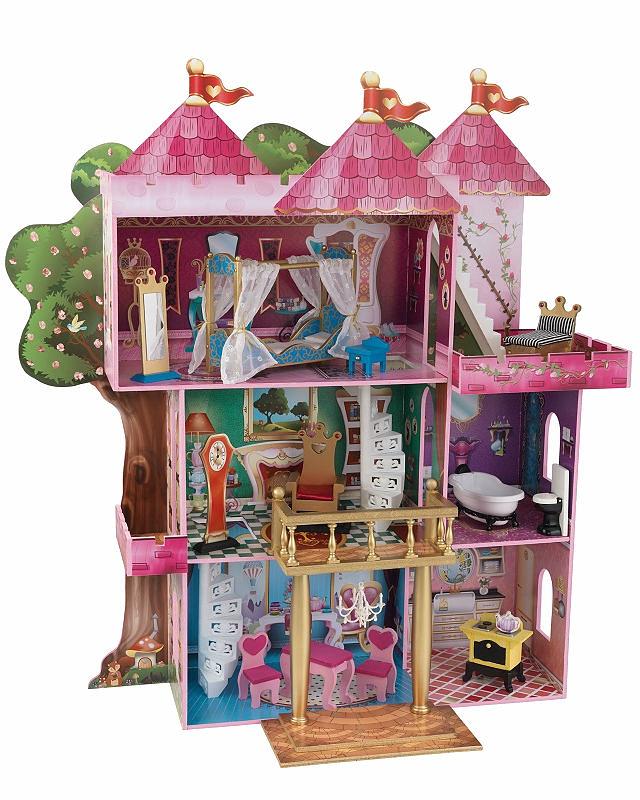 Купить Замок-дом для кукол Winx и Ever After High - Книга Сказок с мебелью, KidKraft