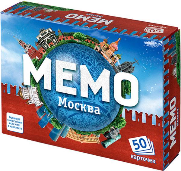 Настольная игра Мемо – МоскваРазвивающие<br>Настольная игра Мемо – Москва<br>