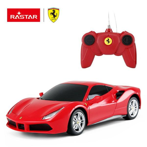 картинка Машина на радиоуправлении 1:24 Ferrari 488 GTB, цвет Красный от магазина Bebikam.ru