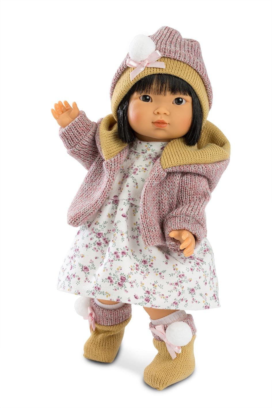 Купить Кукла Валерия, азиатка 28 см, Llorens Juan