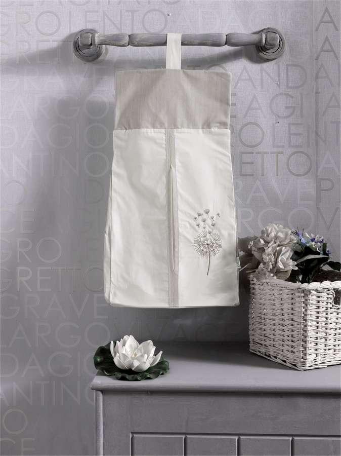 Прикроватная сумка серии - Blossom Saten Vanilla, 100% хлопок, размер 30 х 65 смДекор и хранение<br>Прикроватная сумка серии - Blossom Saten Vanilla, 100% хлопок, размер 30 х 65 см<br>