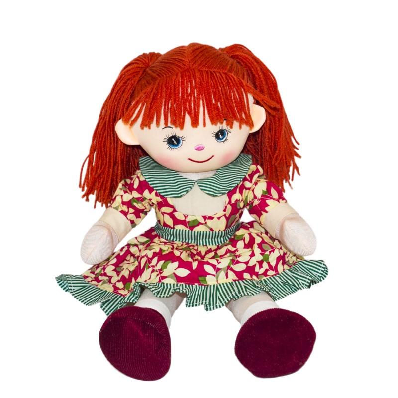 Мягкая кукла Рябинка, 40 см. - Мягкие куклы, артикул: 159924