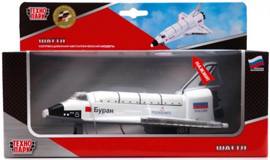 Шаттл металлический инерционный со светом и звуком - Самолеты, службы спасения, артикул: 135635