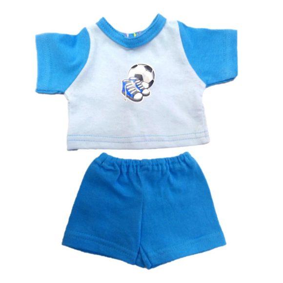 Одежда для куклы размером 38-43 см. - футболка и шорты СпортОдежда для кукол<br>Одежда для куклы размером 38-43 см. - футболка и шорты Спорт<br>