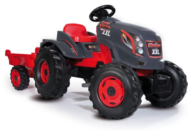 Трактор педальный XXL с прицепомПедальные машины и трактора<br>Трактор педальный XXL с прицепом<br>