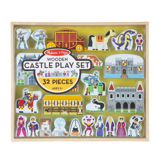 Классические игрушки – Фигурки: Деревянный замокДетский кукольный театр <br>Классические игрушки – Фигурки: Деревянный замок<br>