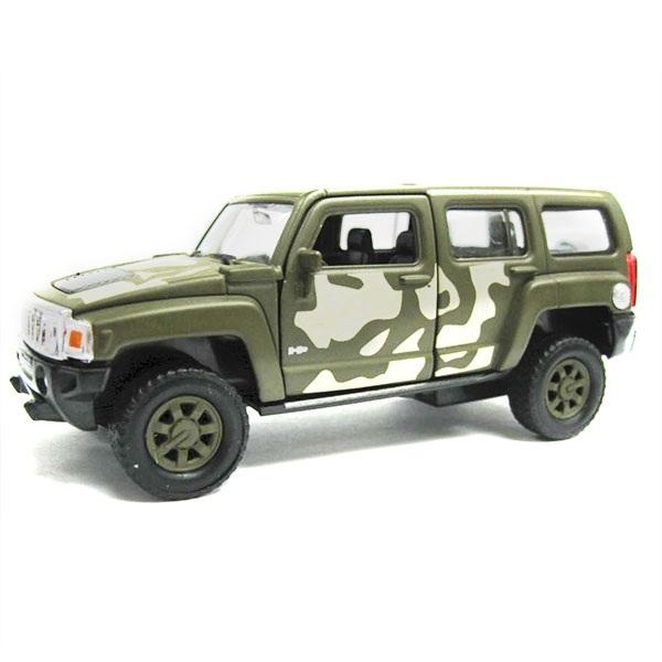 Купить Модель военной машины Hummer H3, масштаб 1:34-39, Welly