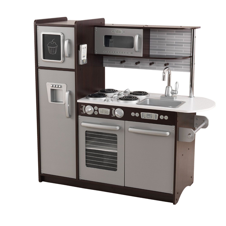 Деревянная кухня для мальчиков и девочек - ЭспрессоДетские игровые кухни<br>Деревянная кухня для мальчиков и девочек - Эспрессо<br>