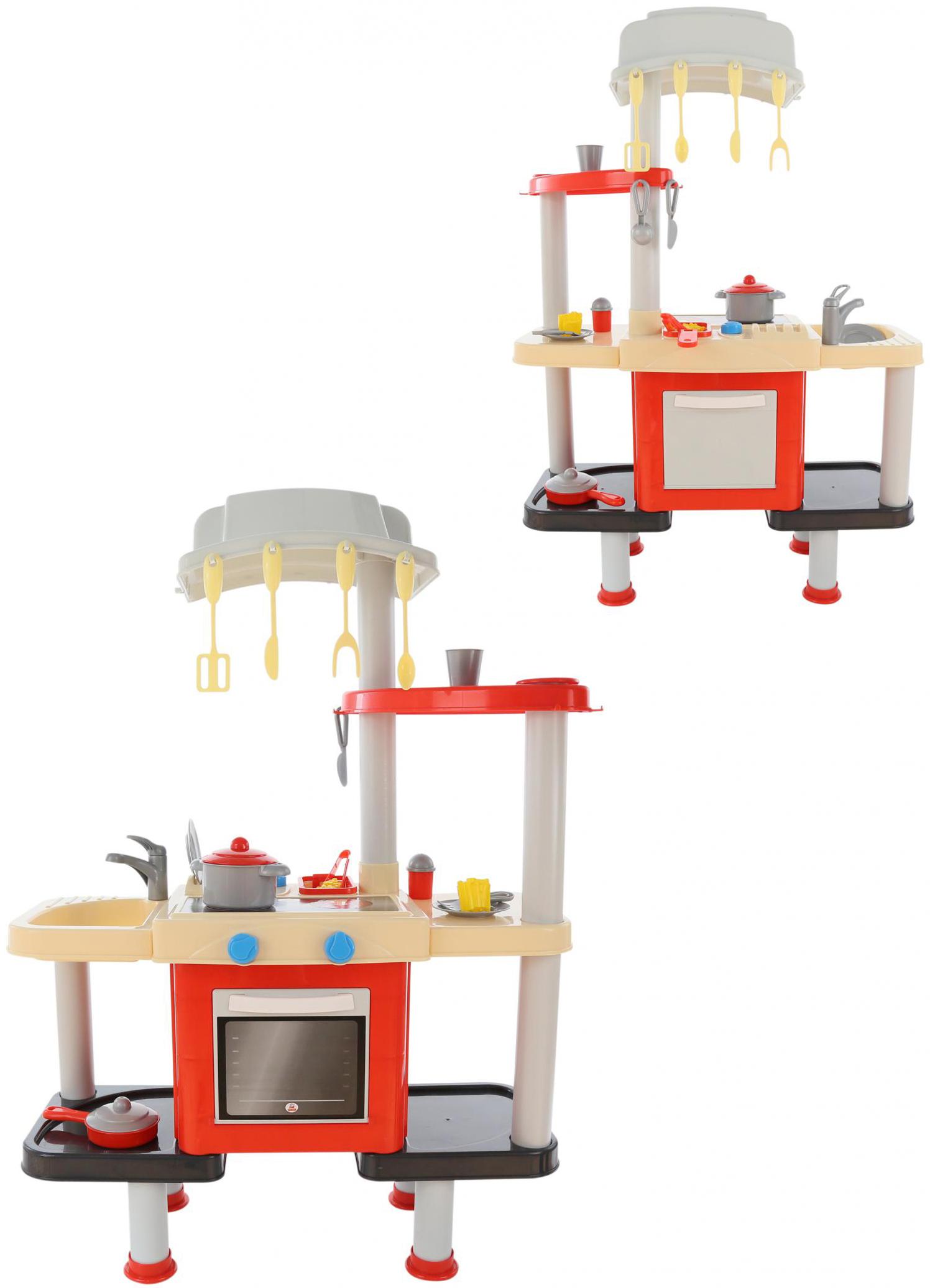 Игровая кухня № 1 с посудой и аксессуарами, в пакетеДетские игровые кухни<br>Игровая кухня № 1 с посудой и аксессуарами, в пакете<br>