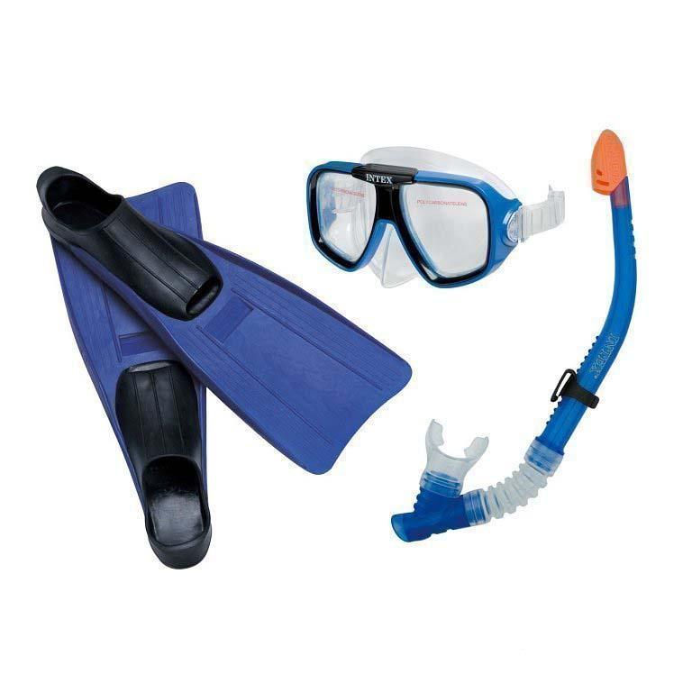 Плавательный набор: маска, трубка, ласты - Летчик