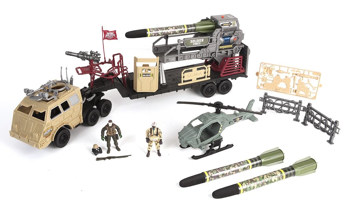 Купить Игровой набор: Ракетоносец, свет и звук, Chap Mei