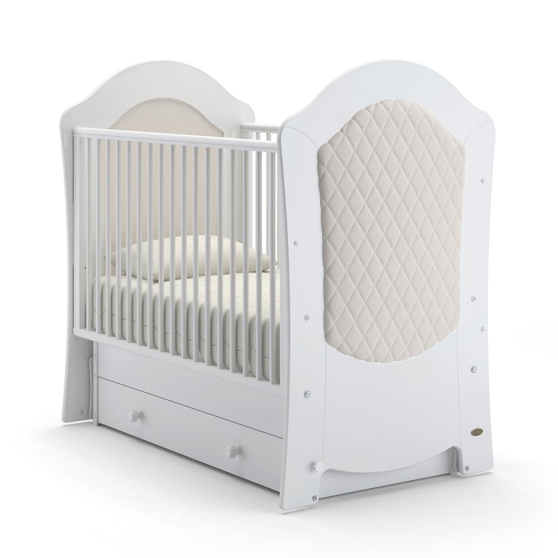 Купить Детская кровать Nuovita Tempi Swing поперечный, цвет - Bianco/Белый