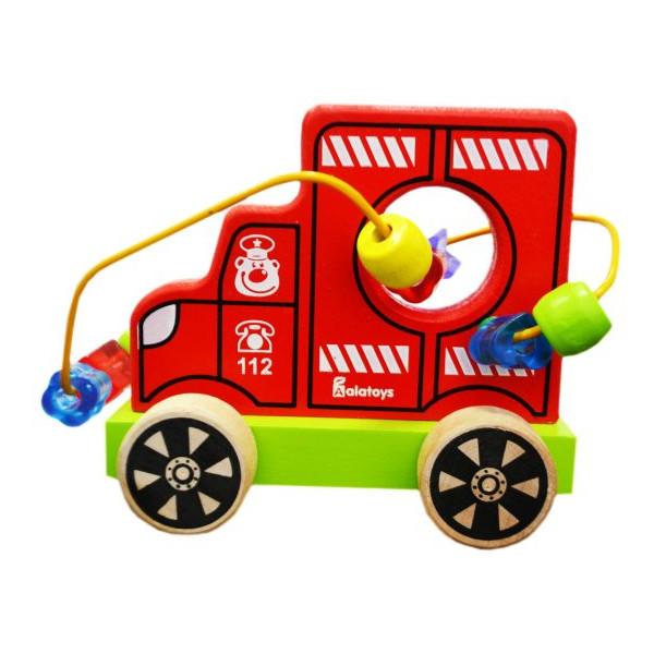 Купить Лабиринт-каталка - Пожарная машина, Алатойс