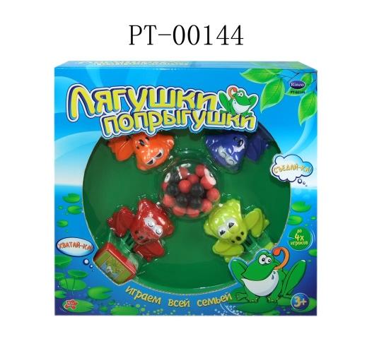 Игра настольная  Лягушки-попрыгушки - Для самых маленьких, артикул: 112439